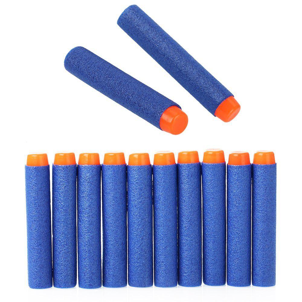 Zipom Nerf Foam Darts for Nerf Guns 400 Pack 7.2cm - Blue. Loading zoom