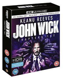 John Wick: Chapters 1 & 2 (Parallel Import - 4K Ultra HD + Blu-Ray)