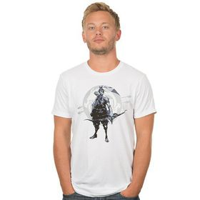 Overwatch Redemption Through Honor - Mens T-Shirt (White)