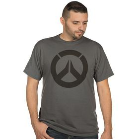 Overwatch: Icon - Mens T-Shirt (Charcoal)
