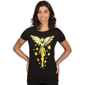 Overwatch: Have Mercy - Ladies T-Shirt (Black)