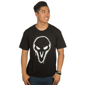 Overwatch: Reaper Spray - Mens T-Shirt (Black)