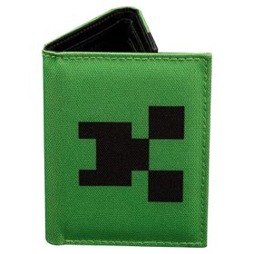 Minecraft: Pocket Creeper - Tri-Fold Nylon Wallet