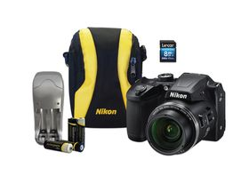 Nikon B500 Ultra Zoom Digital Camera Value Bundle