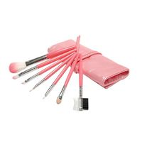 travel makeup brush set with case  7 piece  buy online