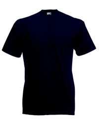 1fbeb8a52 Fruit Of The Loom Men's Valueweight Crew Neck - Deep Navy