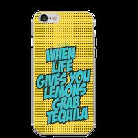 Hey Casey! Lemon & Tequila Quote Pop Art Phone Case for iPhone 8