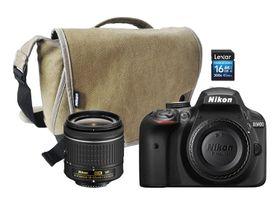Nikon D3400 DSLR 24.2MP Starter Value Bundle
