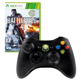 Xbox 360 Wireless Controller + Battlefield 4 (Xbox 360)