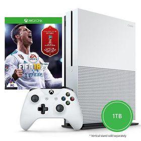 Xbox One S 1TB Console + FIFA 18 (Xbox One)