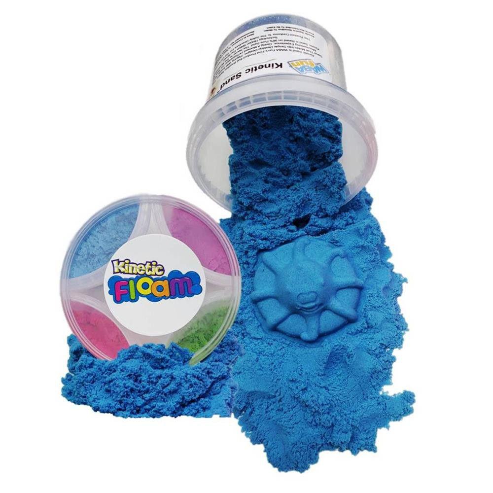 Waba Fun Kinetic Floam In Tub - Blueberry Blue | Buy Online in South ...