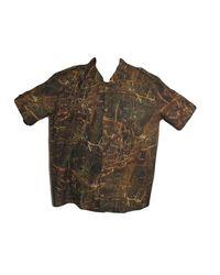 Durban Overall Men's Camo Short Sleeve Shirt - Camo