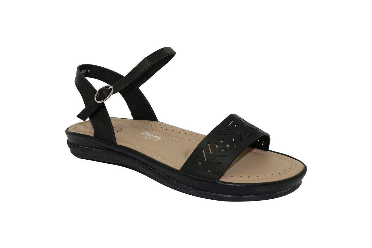 Bata Comfit Ladies Sandals Black Buy Online In South