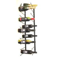 TrendyShop Wine Rack - Black