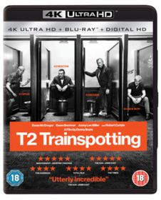 T2 Trainspotting - 2 Discs (4K Ultra HD + Blu-Ray - Parallel Import)