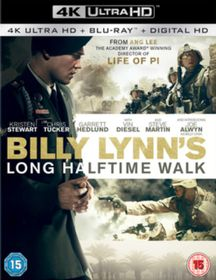 Billy Lynn's Long Halftime Walk (4K Ultra + Blu-Ray)