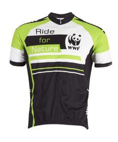WWF-Kway Ride for Nature Men's Cycle Shirt - Green