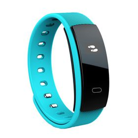 Fervour QS 80 Smart Band with Heart Rate Monitor - Blue