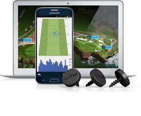 Golf Pad GPS Tags (Black)