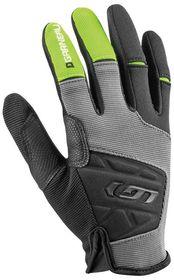 Louis Garneau Unisex Montello Pro Cycling Gloves - Black & Green