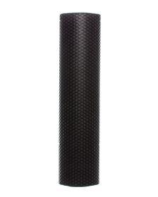 GetUp EVA Yoga Foam Roller With Hex Massage Dots Black - 77cm