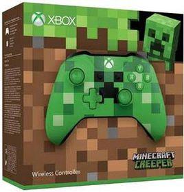 Minecraft Creeper Wireless Controller (Xbox One)