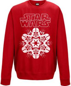 Star Wars: Vader Snowflake Red Sweater (Parallel Import)