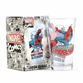 Marvel: Spiderman Large Glass (Parallel Import)