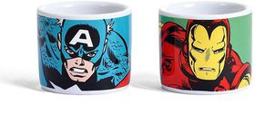 Marvel: Captain America Egg Cups - Set Of 2 (Parallel Import)