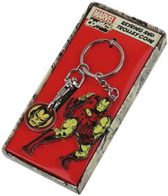 Marvel: Iron Man Trolley Coin Keyring (Parallel Import)