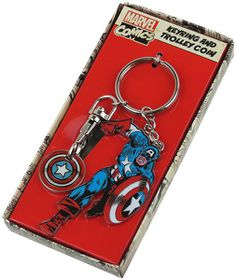 Marvel: Captain America Trolley Coin Keyring (Parallel Import)