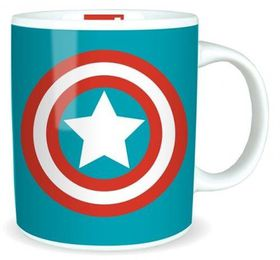 Marvel: Captain America Logo Mug (Parallel Import)