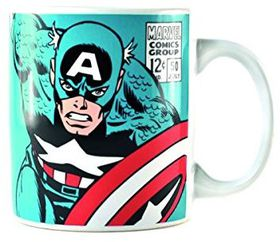 Marvel: Captain America Mug (Parallel Import)