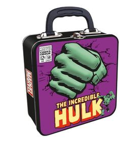 Marvel: Hulk Embossed Tin Tote (Parallel Import)