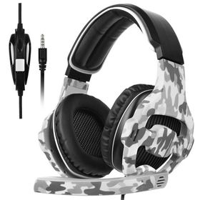 Sades 810 Camouflage Gaming Headphones with Microphone