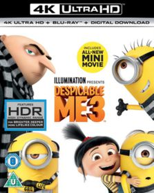 Despicable Me 3 (4K Ultra + Blu-Ray)