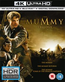 The Mummy: Trilogy (4K Ultra HD + Blu-Ray - Parallel Import)