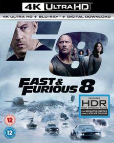Fast & Furious 8 (4K Ultra + Blu-Ray)