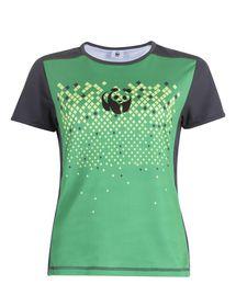 WWF Run For Nature Ladies Technical Running Shirt - Green