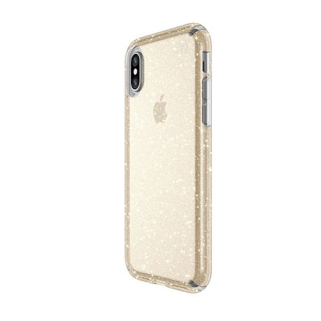 new products 7338c 718e3 Speck Presidio Glitter Case for Apple iPhone XS/X - Clear/Gold