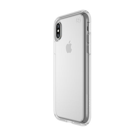 cheap for discount 9ce19 5fdca Speck Presidio Case for Apple iPhone XS/X - Clear