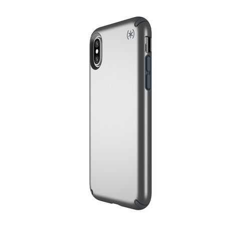 official photos 8da99 ceb23 Speck Presidio Metallic Case for Apple iPhone XS/X - Grey