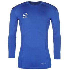 Sondico Men's Base Core Long Sleeve Base Layer - Royal