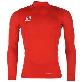 Sondico Men's Base Mock Neck Top - Red