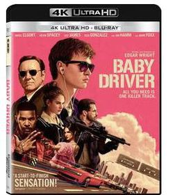 Baby Driver (4K Ultra + Blu-Ray)