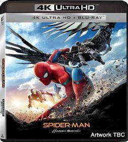 Spider-man: Homecoming (4K Ultra + Blu-ray)