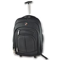 "Kings 15"" Trolley Laptop Backpack - Black"