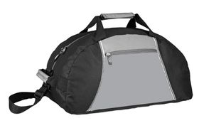 Slazenger Base Jump Sports Bag - Black & Grey