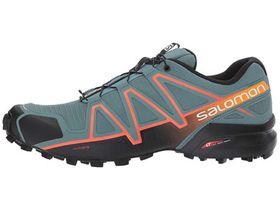 Salomon Men's Speedcross 4 Shoes - Grey & Orange