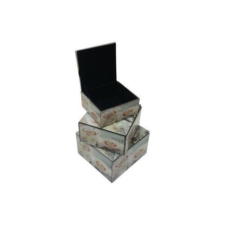 Cottonbox Square Jewellery Box Set - Cream Rose  5e53c9f58eb93